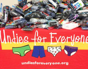 Undies for Everyone expands their mission in the wake of Hurricane Harvey.