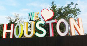Photo credit: 365 Things to Do in Houston - We Love Houston sign by David Adickes