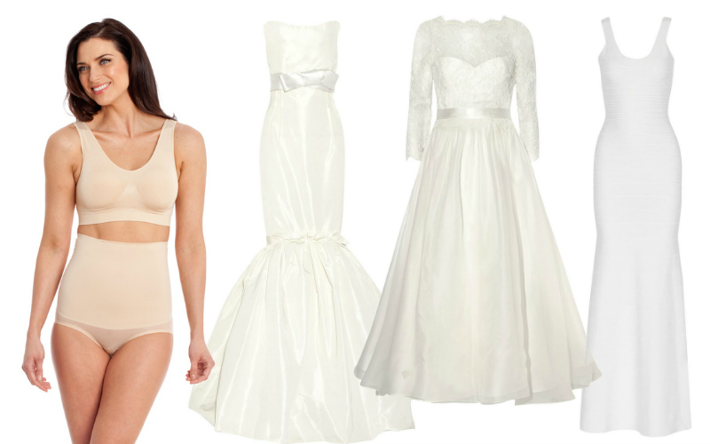 Bridal Shapewear Guide What To Wear Under Wedding Gown