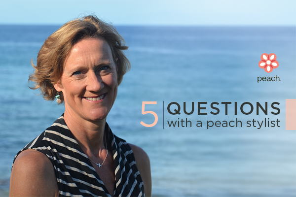 5 questions with a peach stylist