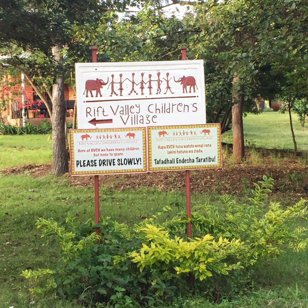 Natalie King Rift Valley Sign