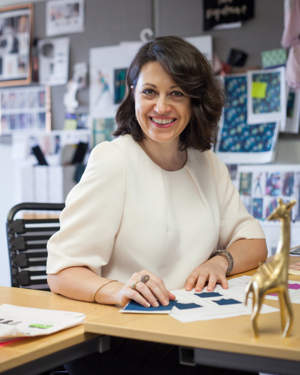 Fashion design director Daniela Bascunan