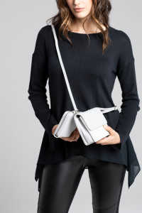 The Pixie Mood 2-in-1 Convertible Crossbody being featured as part of Peach's Nordic Lights collection.