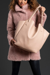 The Pixie Mood Vegan Everyday Tote featured as part of Peach's Nordic Lights collection.